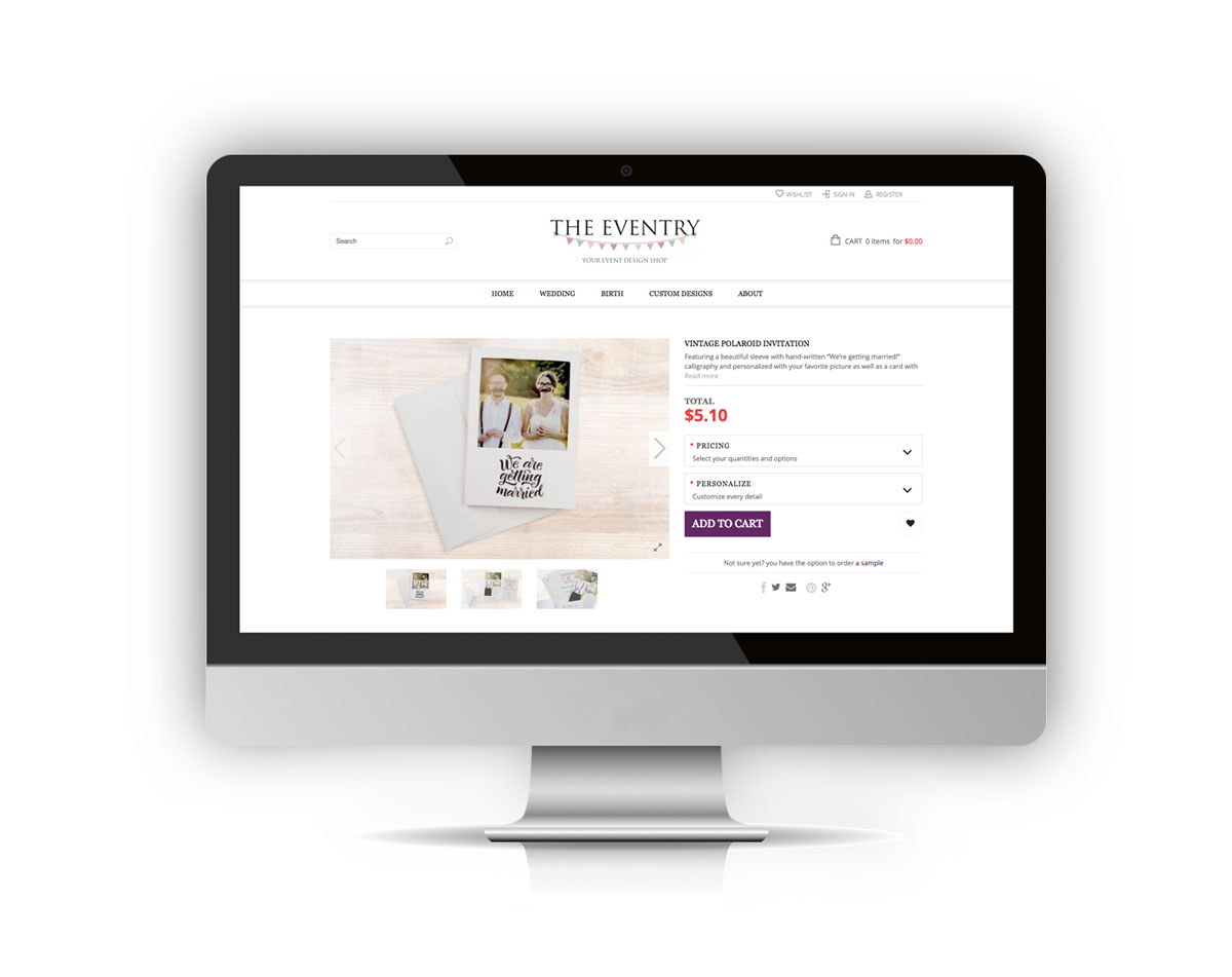 TheEventry_WebsiteDesign1